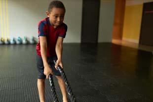 Quer treinamento funcional para criancas?
